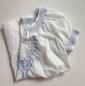 Sonoma embroidered summer top size S